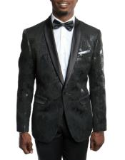 Mens Slim Fit Tuxedo Jacket