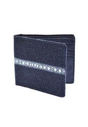 GNU0181 Wallet ~ billetera ~ CARTERAS Liquid Jet Black