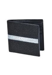 STN9128 Wallet ~ billetera ~ CARTERAS Liquid Jet Black
