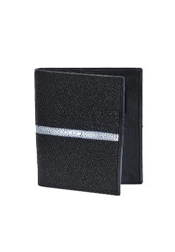 CHQ7091 Wallet ~ billetera ~ CARTERAS Liquid Jet Black