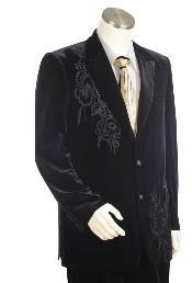 IK1475 Two Buttons Suit Style Comes In Liquid Jet