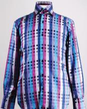 Fancy Polyester Dress Fashion Shirt
