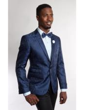 JSM-5189 Mens Fashion Stage Blazer ~ Sport coat Blue