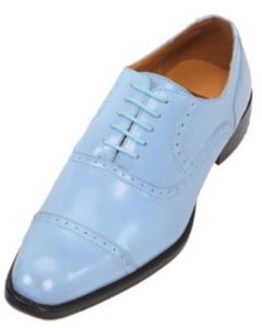 Blue Oxford Dress Shoe