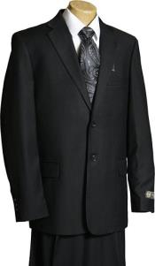 Boys Suits Black 2 Button Single