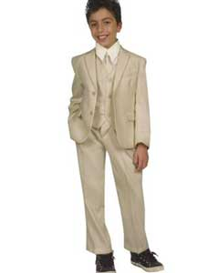 AC-982 Kids Boys Five Piece Suits For Teenagers With