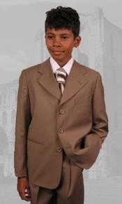 42895 B-100 Bronze Boys Dress Boys And Men Suit