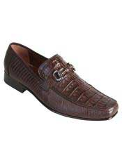 JSM-3277 Mens Los Altos Stylish Genuine Caiman Belly &