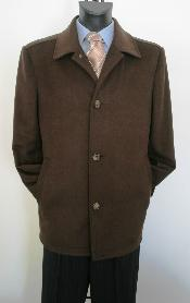BW2135 Car Coat Style brown color shade