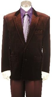 Fashion Velvet Suit For