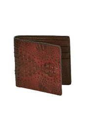 BCF7572 Wallet ~ billetera ~ CARTERAS brown color shade
