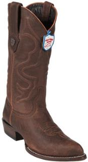 Wild West Walnut J-Toe Leather