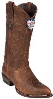 MR6759 Wild West Honey J-Toe Leather Cowboy Boots