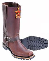 Mens Crocodile Western Boots