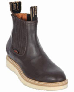 KA1117 Authentic Los altos Short Work Boot brown color