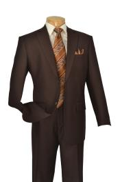 KA5977 brown color shade 2 Button Style Big And