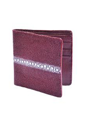 BMN6111 Wallet ~ billetera ~ CARTERAS Burgundy ~ Maroon