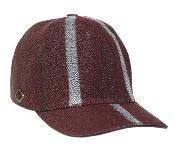 Product# KA1340 Ostrich Skin Hat Burgundy