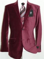 JR5548 Velvet Burgundy ~ Maroon ~ Wine Color Sport