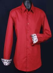 The Richness Of Burgundy Dress Shirt