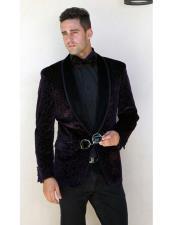 velvet Designed Jacket