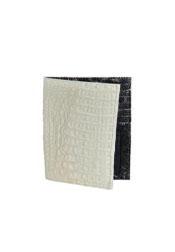 KA6767 Chequera cai ~ Alligator skin Lomo Wallet –