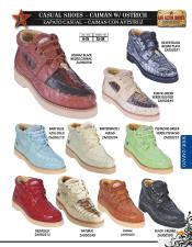 BHU5 High Top Exotic Skin Sneakers for Authentic Los