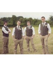 CH1947 Mens casual groomsmen attire (Color of your choice)