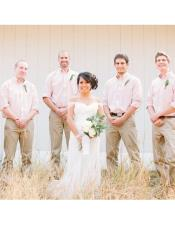 mens casual groomsmen attire Any