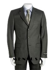 MER732 Dark Dark Grey Masculine color Gray Multi Pinstripe