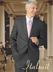 BE0212 Dark Grey Masculine color 2 Button Style Wool