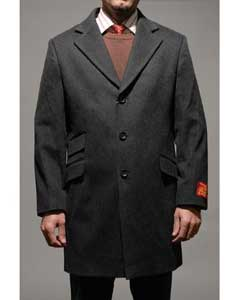 FY9759 Dark Grey Masculine color Wool Fabric and Cashmere