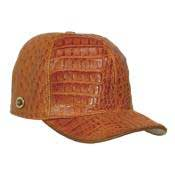 Product# CNC722 Baseball Cognac Genuine Hornback