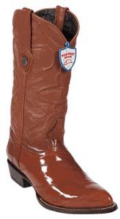 NG7566 Wild West Cognac Eel Cowboy Boots