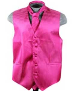 Vest Tie Set red color