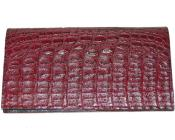 Wallet~billetera~CARTERASLargeHornbackWalletBurgundy