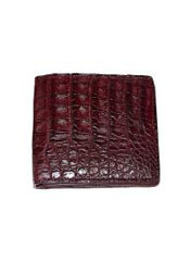 Wallet~billetera~CARTERASHornbackWalletWine