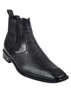 KA5579 Genuine Liquid Jet Black Shark Dressy Boot