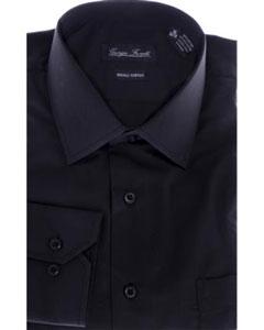 KBS752 Modern-fit Dress Shirt Liquid Jet Black