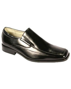 KR7511 Moc Toe SR Dress Loafers Liquid Jet Black