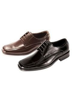Liquid Jet Black Shoes