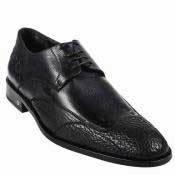KA3766 Shark Skin Dress Shoe Liquid Jet Black