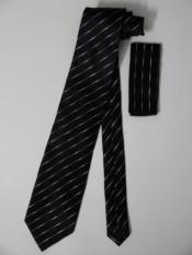 Silk Neck Tie Hanky