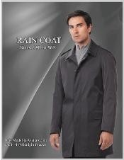 Style Raincoat - Trench Coat Liquid Jet Black