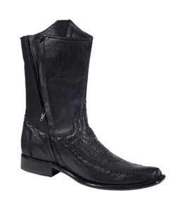 KA6914 Genuine Liquid Jet Black Shark trendy casual Boots