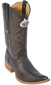 KA8365 Deer brown color shade Authentic Los altos Western