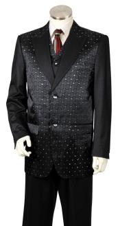 mens Diamond Pattern 3pc Zoot