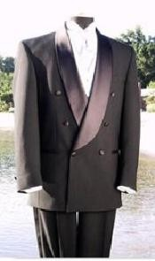 VALENTI~ $1800 Shawl Collar Italian Fabric