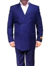 JSM-6753 Alberto Nardoni Best Mens Italian Suits Brands Double