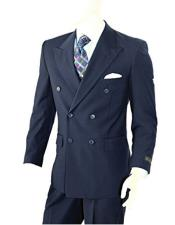 Mens Double Breasted Two-piece Classic